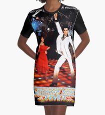 Saturday Night Fever Graphic T-Shirt Dress