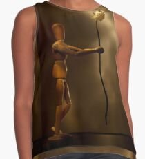 Wooden love Contrast Tank