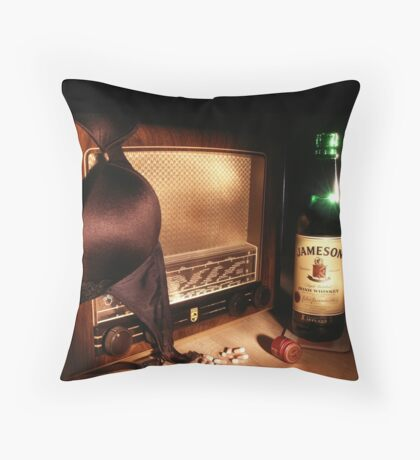Sex, Drugs & Rock 'n' Roll Throw Pillow