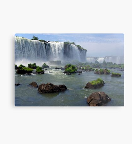 At the edge of the Devil's Throat Metal Print