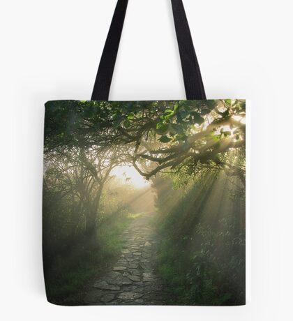 God's Path Tote Bag