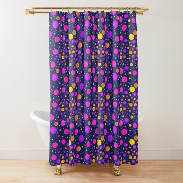 Psychedelic pattern Shower Curtain