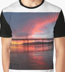 Colwyn Bay Pier Graphic T-Shirt