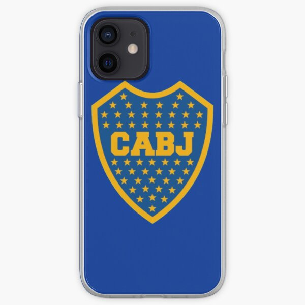 boca Juniors Funda blanda para iPhone