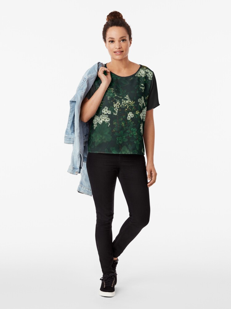 Alternate view of Spotted Beauty Chiffon Top