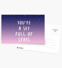 Himmel voller Sterne Postkarten