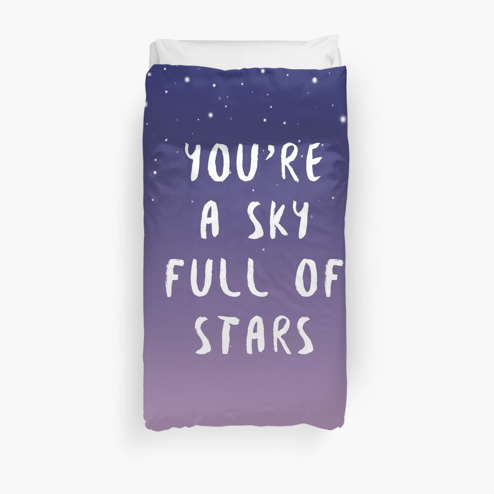 Himmel voller Sterne Bettbezug