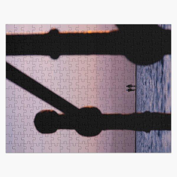 West Kirby Marine Lake Silhouettes Jigsaw Puzzle