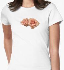 Two Peach Roses T-Shirt