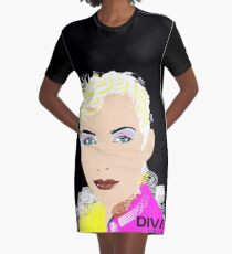 ANNIE LENNOX Graphic T-Shirt Dress