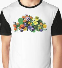 Patch of Pansies Pansies Graphic T-Shirt