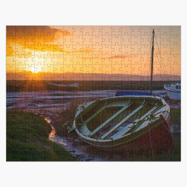 Sun Sets on Lower Heswall Jigsaw Puzzle