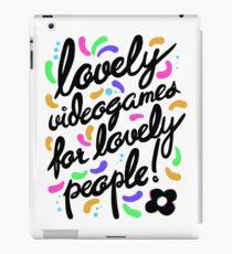 Hovergarden - Lovely Videogames for Lovely People iPad Case/Skin