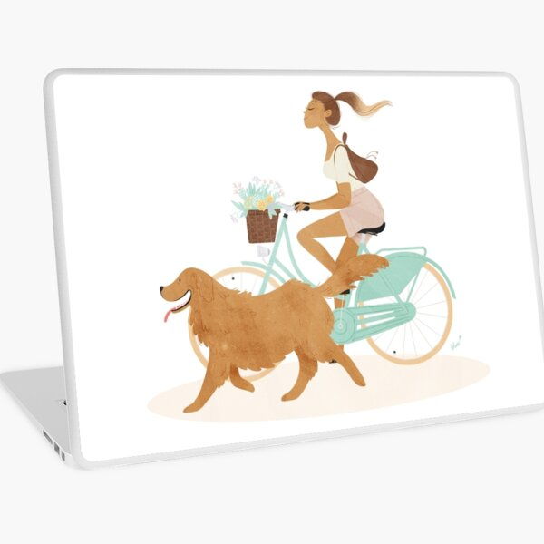 Cycling Tour Laptop Folie