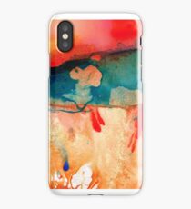 Life Eternal Red And Green Abstract iPhone Case/Skin