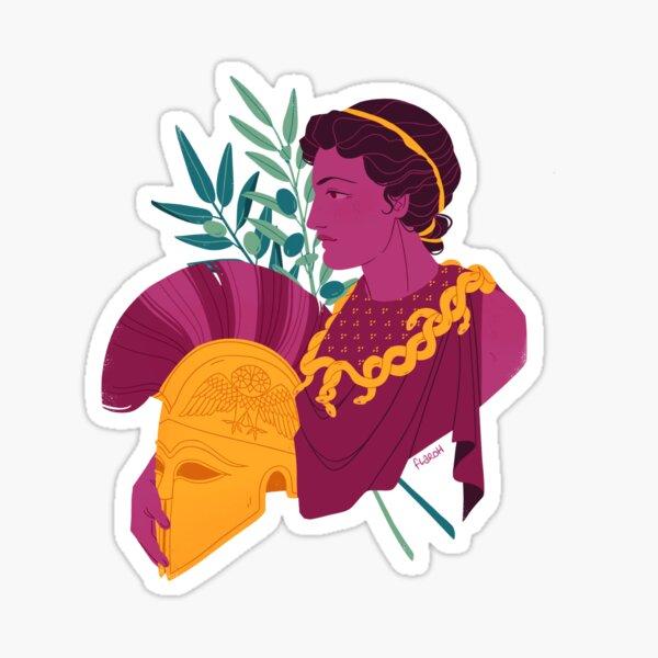 Minerva Bust Sticker