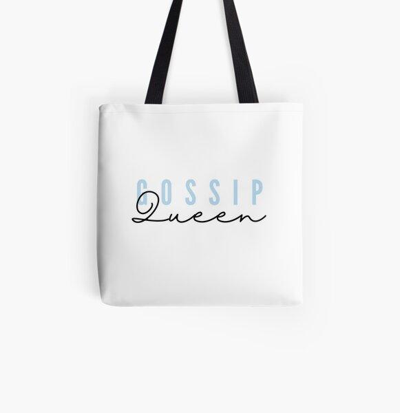 Gossip Queen All Over Print Tote Bag