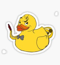 Duck Jazzman (SCP) Sticker