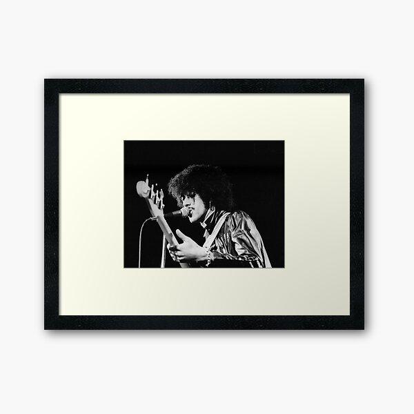 Phil Lynott in London Framed Art Print