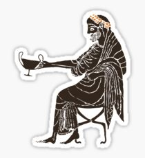 Dionysus - God of Wine & Dance Sticker