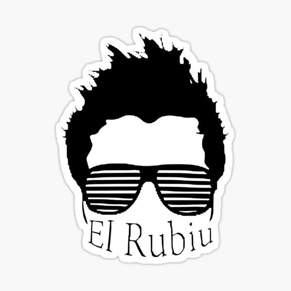 Logotipo de El Rubius Pegatina