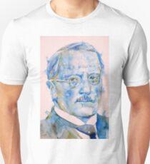 CARL JUNG - watercolor portrait..5 Unisex T-Shirt