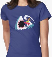 Surf's Up Women's Fitted T-Shirt