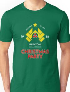 Nakatomi Corp Christmas Party 1988 T-Shirt Unisex T-Shirt
