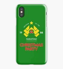 Nakatomi Corp Christmas Party 1988 T-Shirt iPhone Case