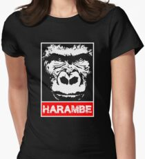 Remember Harambe Women's Fitted T-Shirt
