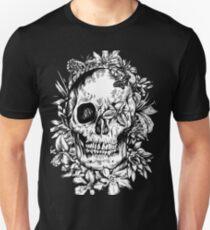 floral skull 1 Unisex T-Shirt