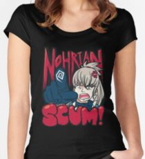 Nohrian Scum Ver. 3 Women's Fitted Scoop T-Shirt