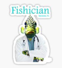 Fishician Glossy Sticker
