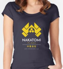 Nakatomi Plaza T-Shirt Women's Fitted Scoop T-Shirt