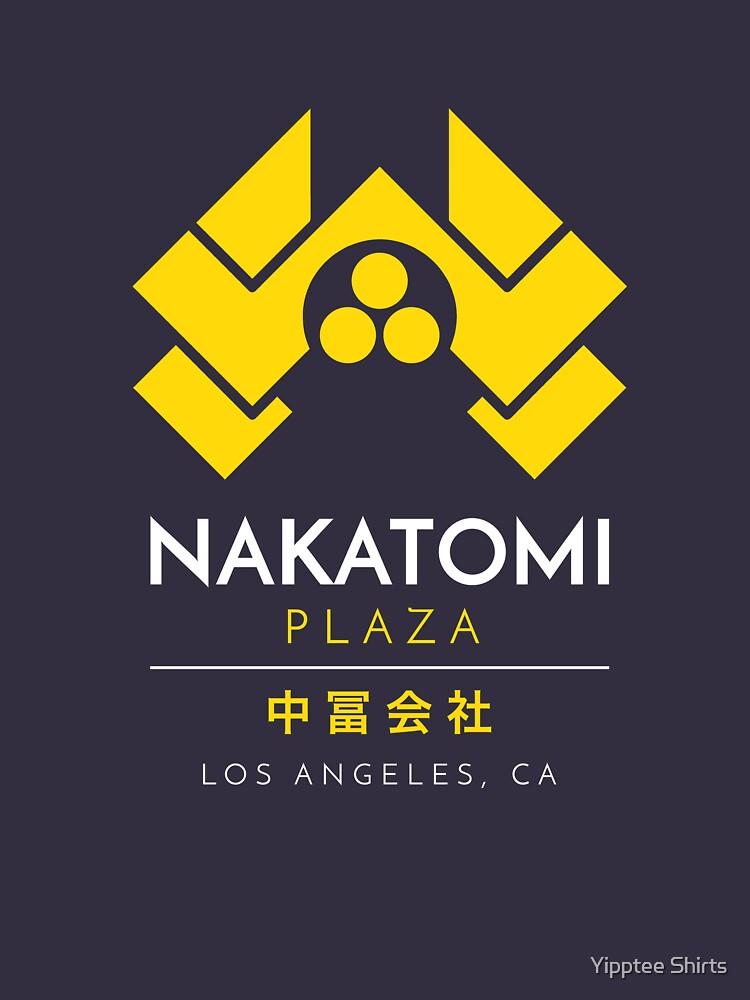 Nakatomi Plaza T-Shirt von dumbshirts