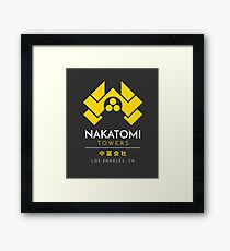 Nakatomi Towers T-Shirt Framed Print