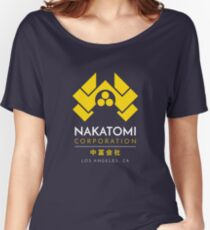 Nakatomi Corporation T-Shirt Women's Relaxed Fit T-Shirt