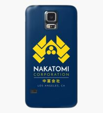 Nakatomi Corporation T-Shirt Case/Skin for Samsung Galaxy
