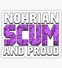 Nohrian Scum Ver. 5 Sticker