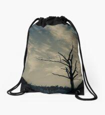 on the horizon Drawstring Bag
