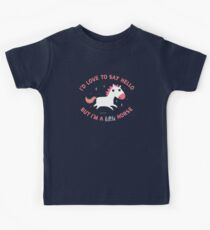 I'm A Little Horse Kids Clothes