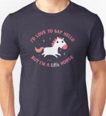 I'm A Little Horse Unisex T-Shirt