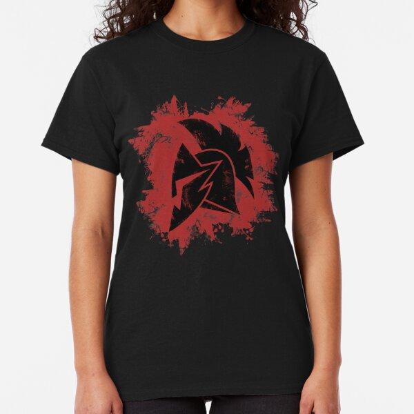 Spartan Dark Silhouette Logo Classic T-Shirt