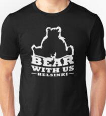 Bear With Us Helsinki Heavy Bear Sitting Slim Fit T-Shirt