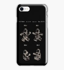 Lego Man Patent 1979 Page 2 iPhone Case/Skin