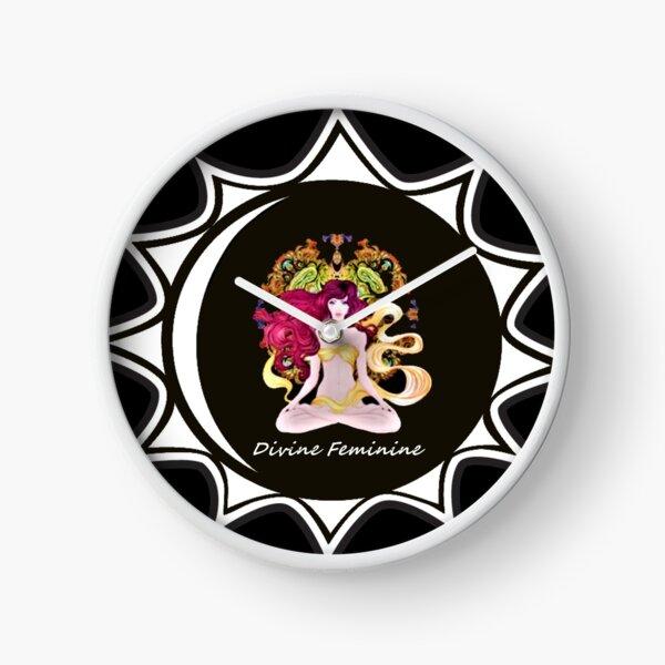 The Divine Feminine Energy Mandala Clock