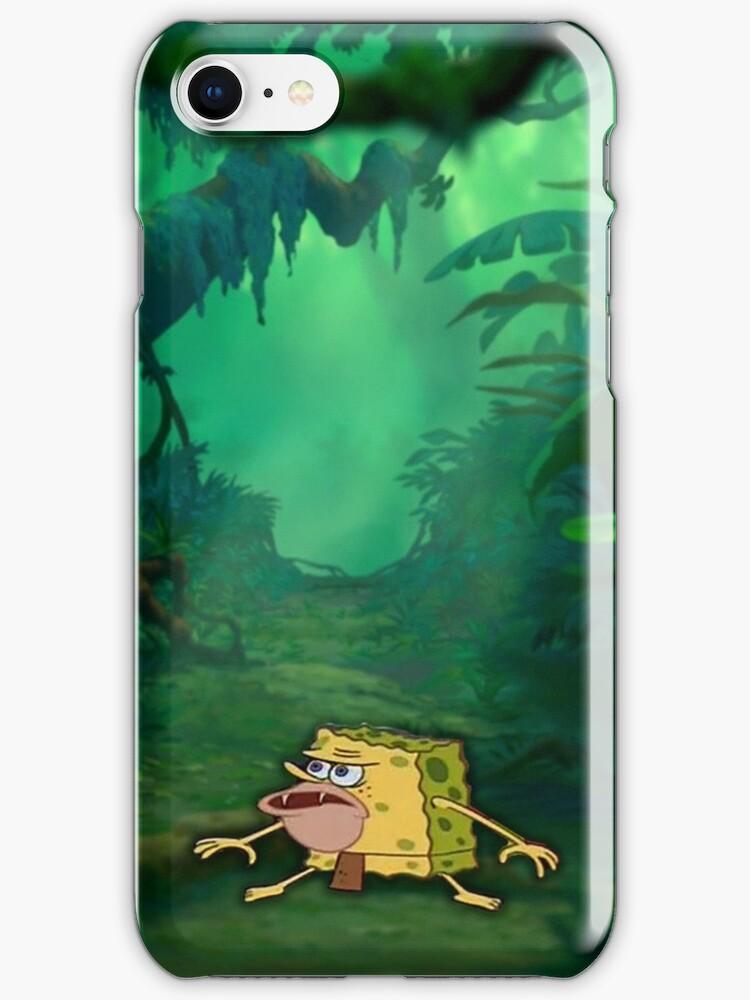 Caveman Phone : Quot caveman spongebob meme spongegar iphone cases skins