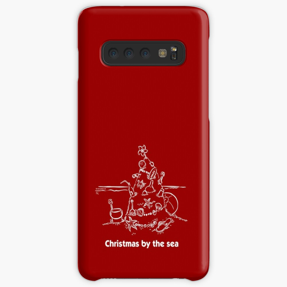 Christmas by the sea Case & Skin for Samsung Galaxy