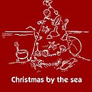 Christmas by the sea by Gudrun Eckleben