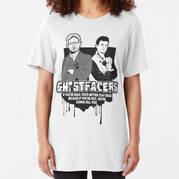 Ghostfacers Slim Fit T-Shirt